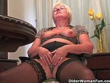 Hairless, Ass, Shaved pussy, Chubby, High definition, Cunt, Boobs, Tits, Toys, Natural tits, Grandmother, Masturbation, Old, Shaved, Stockings, Solo, Granny, Fat, Dildo