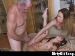 Dad and girl, Teen, Redhead, Blonde, Share, Jizz, Huge, Group, 3 some, Old, Young, Facial, Old and young, Babe, Old man