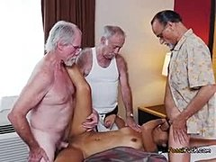 Group, Sex, Young, Hardcore, Old man, Cock, Banging, Old, Teen, Gangbang, Big cock, Dad and girl, Monster cock, Blowjob