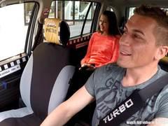 Teen, Cute, Taxi, European, Car, Riding, Czech, Amateurs, High definition