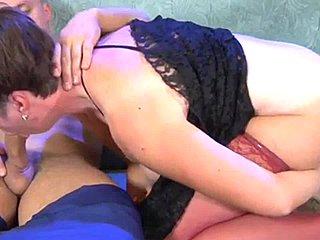 Creampie in russian bbw ass