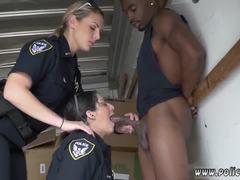 Adolescente negra, Policía, Masturbación, Alta definición, Manuela, Adolescente, Interracial