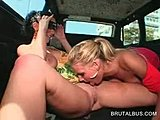 Reality, Blonde, Masturbation, Boobs, Tits, Fingering, Outdoor, Public, Lesbian, Brunette, Big tits