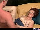 Grandmother, Hairy, Fucking, Mature, Granny, Tits, Saggy tits